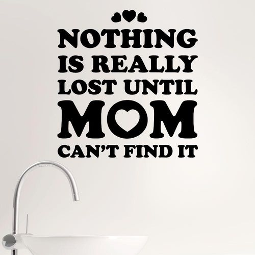 Mom can find it
